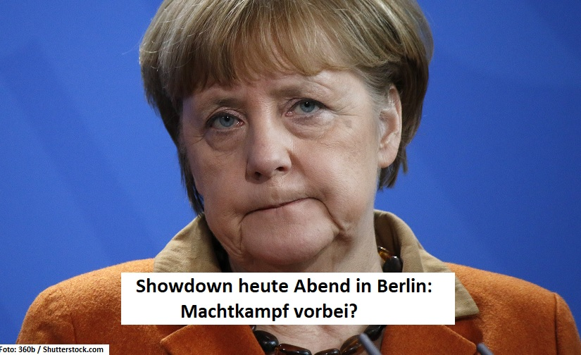 Merkels Showdown