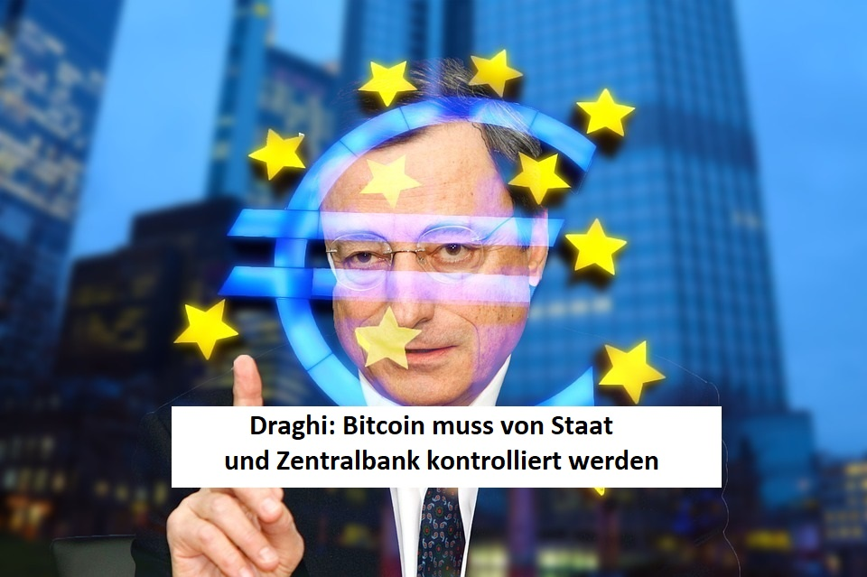 Draghi Bitcoin Regulierung