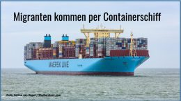 Containerschiff 26.6.
